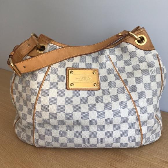 4400547af Louis Vuitton Handbags - Louis Vuitton Galliera PM damier azur canvas